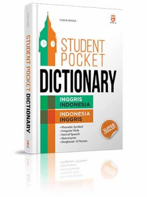 student pocket dictionary inggris indonesia